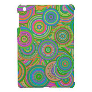 Psychedelic Circles iPad Mini Cover