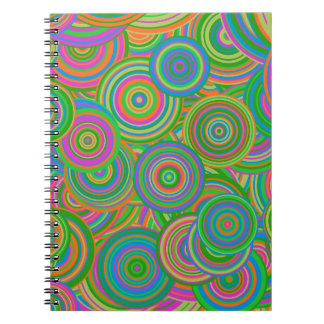 Psychedelic Circles Notebook