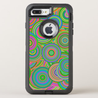 Psychedelic Circles Otterbox iPhone 7 Plus Case