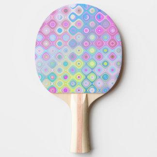 Psychedelic Circles Ping Pong Paddle