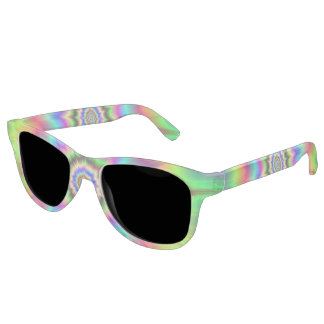Psychedelic Color Explosion Sunglasses