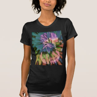 Psychedelic colorful cello T-Shirt