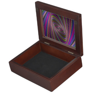 Psychedelic colors keepsake boxes