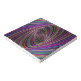 Psychedelic colors trivet