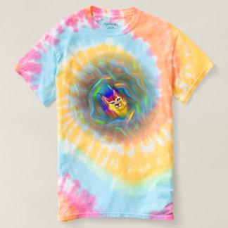 Psychedelic Colour Flow Lynx Portrait Shirts