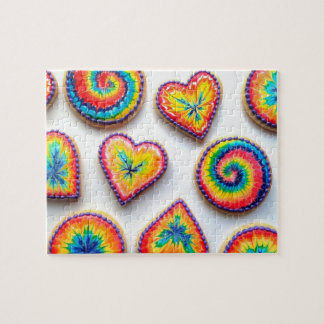 Psychedelic Cookies Jigsaw Puzzle