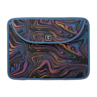 Psychedelic Current Swirl Sleeve For MacBook Pro