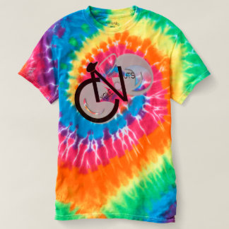 Psychedelic CycleNuts Logo T T-shirt