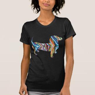 Psychedelic Dachshund T-shirt