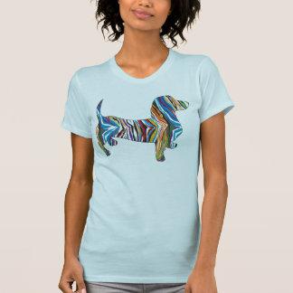 Psychedelic Dachshund Tee Shirt