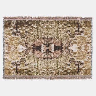 Psychedelic Digital Throw Blanket
