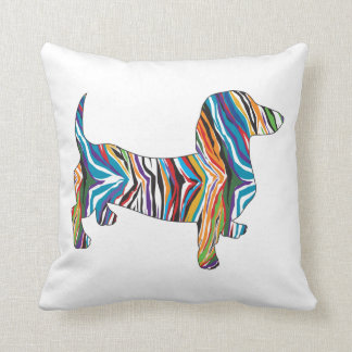 Psychedelic Doixe Throw Pillow