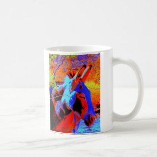Psychedelic Donkey Coffee Mug