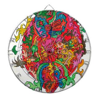 Psychedelic Dragon Dartboards