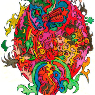 Psychedelic Dragon Gifts on Zazzle CA