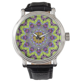 Psychedelic Dude Dodecagram   Watch