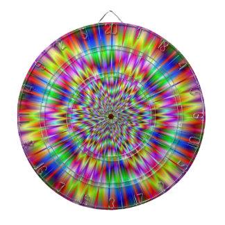 Psychedelic Explosion Dartboard
