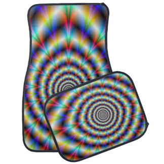 Psychedelic Eye Car Mat