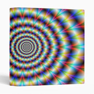 Psychedelic Eye Vinyl Binder