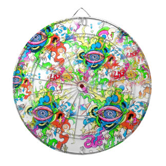 Psychedelic Eyes Dartboard