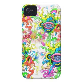 Psychedelic Eyes iPhone 4 Case-Mate Case