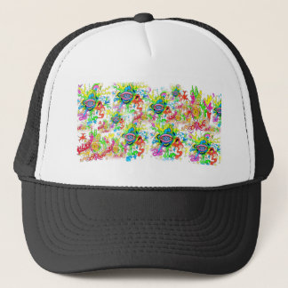 Psychedelic Eyes Trucker Hat