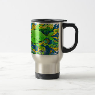 Psychedelic Fish Travel Mug