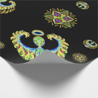 Psychedelic Flash ~Christmas~ Wrapping Paper