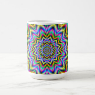Psychedelic Flower Mug