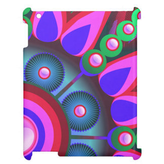 Psychedelic Flower Power Art Cover For The iPad