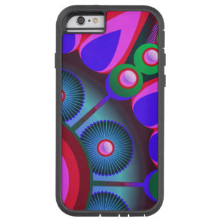 Psychedelic Flower Power Art Tough Xtreme iPhone 6 Case