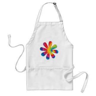 Psychedelic Flower Standard Apron