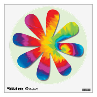 Psychedelic Flower Wall Decal