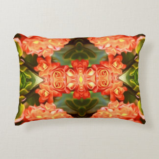 Psychedelic Flowers Accent Pillow