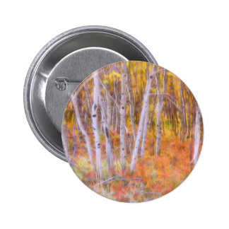 Psychedelic Forest 2 Inch Round Button