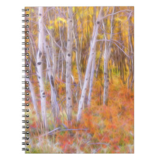 Psychedelic Forest Notebook