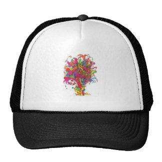 Psychedelic Fountain Trucker Hat