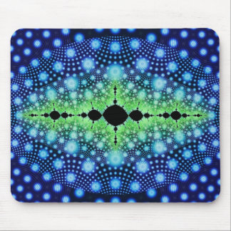 Psychedelic Fractal Wild Decorative Abstract Art Mouse Pad