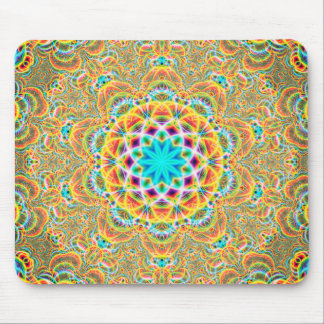Psychedelic Fractals Mouse Pad