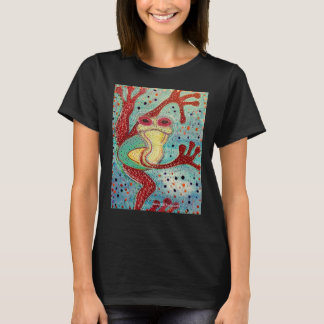 Psychedelic Frog ~ Original artwork from NJPunks T-Shirt