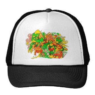 Psychedelic Fun Trucker Hat