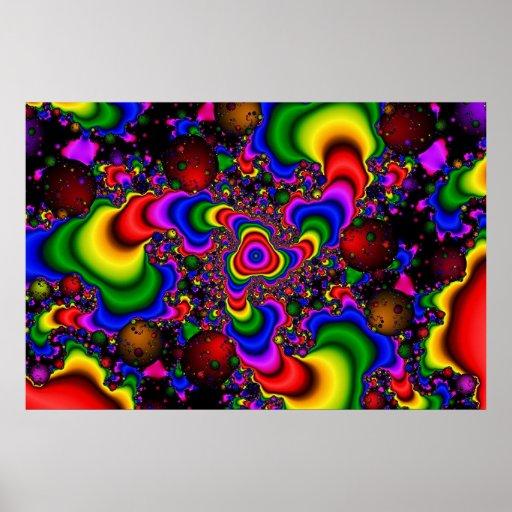 Psychedelic Galaxy Print
