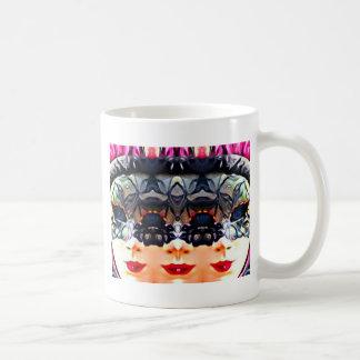 Psychedelic Girl Coffee Mug