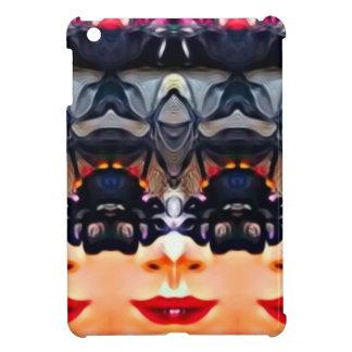 Psychedelic Girl iPad Mini Cases