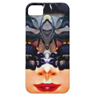 Psychedelic Girl iPhone 5 Cover
