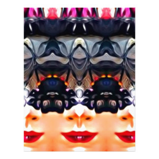Psychedelic Girl Letterhead