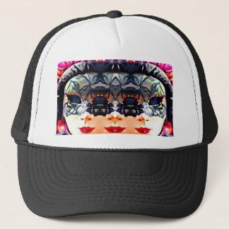 Psychedelic Girl Trucker Hat