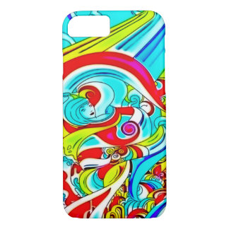 Psychedelic Goddess iPhone 7 Case