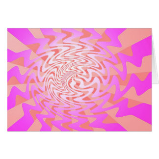 Psychedelic Greeting Card