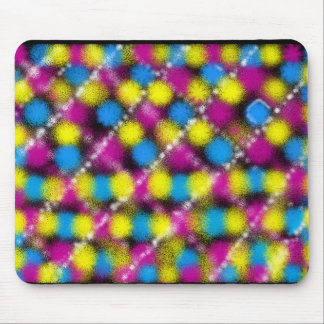 Psychedelic Grill Mouse Pad